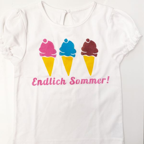 Baby Sommer T-Shirt Eis
