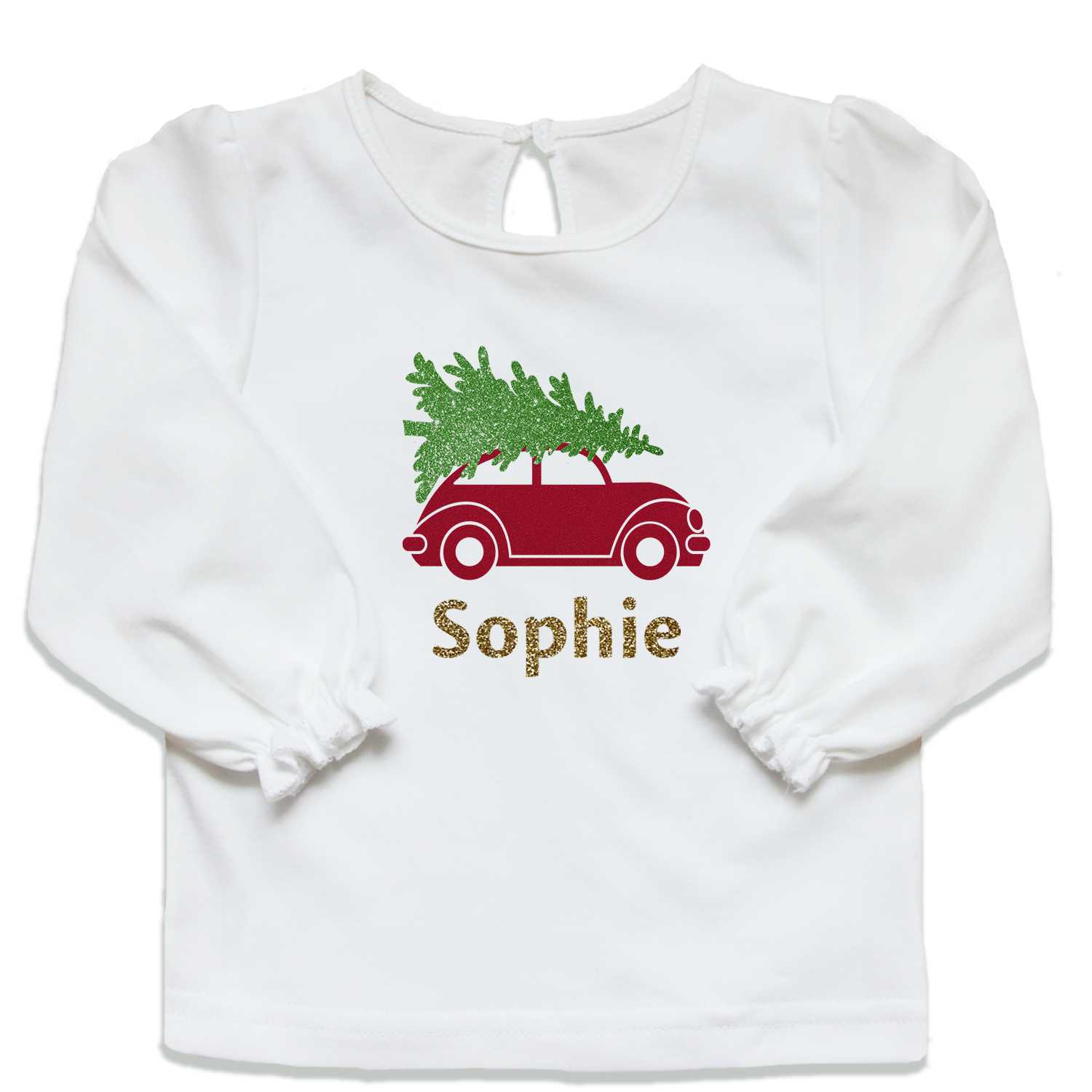 Namens-Babyshirt-Winter-Buben-Auto-Christbaum