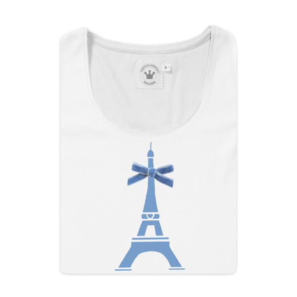 Damen T-Shirt Paris feine Baumwolle